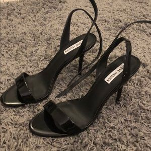 Steve Madden black patent leather heels